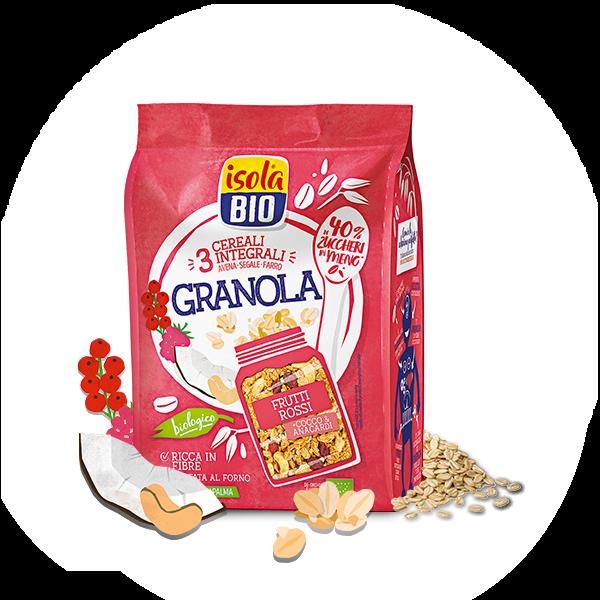 cereali frutti rossi