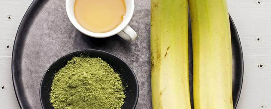 frullati banana tè a