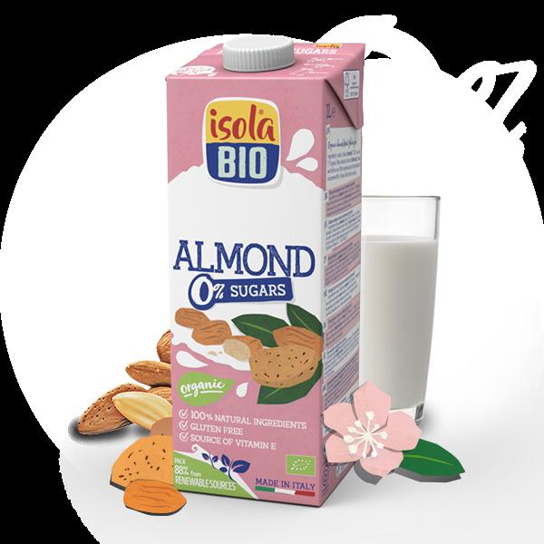 Almond Drink 0% Sugars
