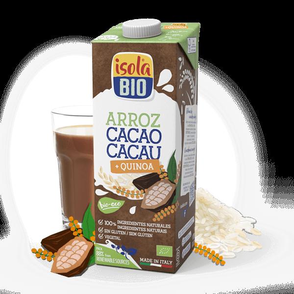 Bebida de Arroz Cacao Quinoa